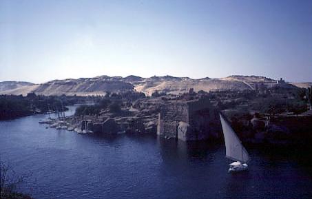 Photos Egypt Aswan Nile Cataract Color
