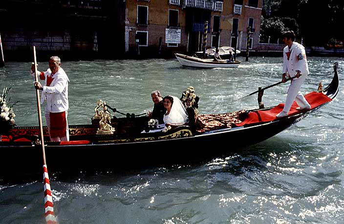 Italy - Venice Photos - Just married !