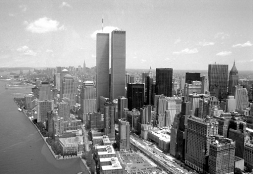 Photos New York City In Black And White Aerial Views Downtown