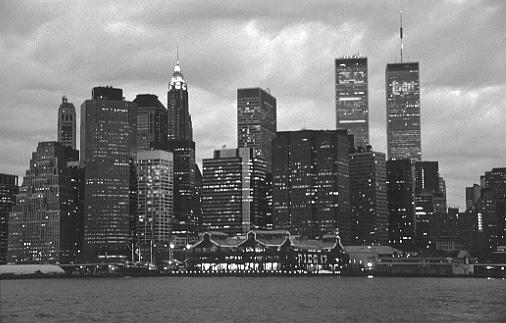 new york city at night black and white. New York City photos